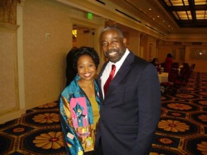 Dr. Shirley Davis and Les Brown