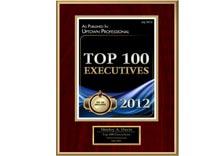 top 100 executives 2012
