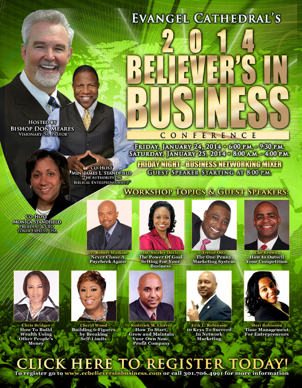 2014 Believers In Business Conference