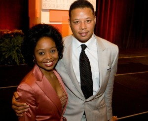 Terrance Howard and Dr. Shirley Davis