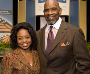 With Chris Gardner from Pursuit of Happyness