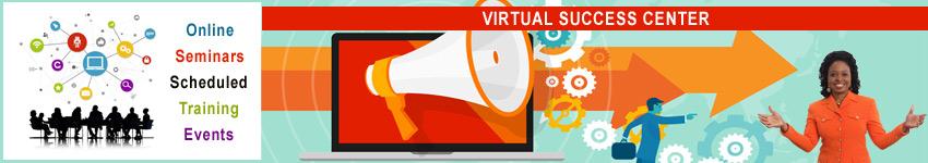 Virtual Success Center - Online Scheduled Events