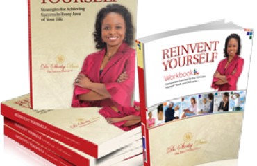 Reinvent Yourself Paperback book + Workbook bundle