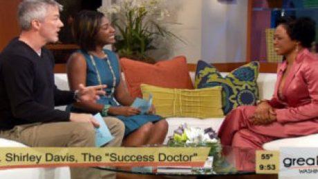 WUSA9 Interviews Dr. Shirley Davis Shepard