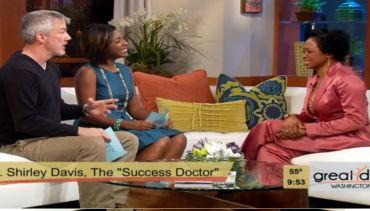 WUSA9 Interviews Dr., Shirley Davis Shepard