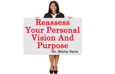Reassess your visions of success