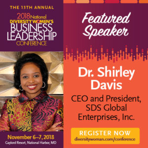 Upcoming Speaking Engagements – Dr  Shirley Davis