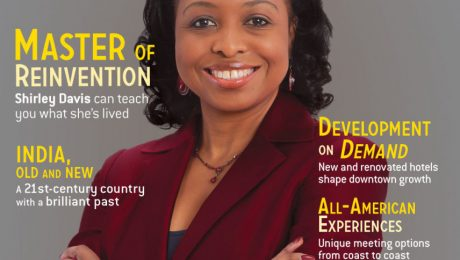 Cover Page of Smart Magazine cover Story on Dr. Shirley Davis. She is on the cover