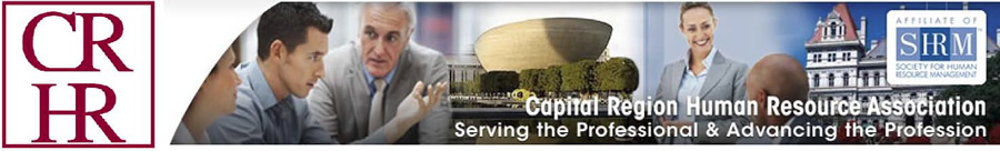 Capital Region Human Resource association banner