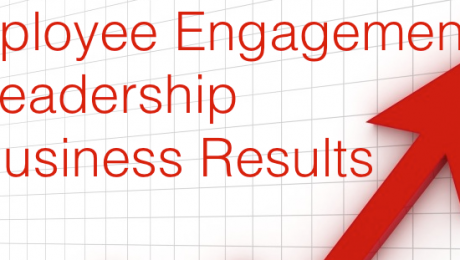 Employee engagement plus Leadership equals business results