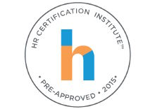HR Certification Institute Approved