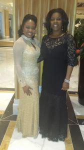 Sheila Robinson and Dr. Shirley Davis