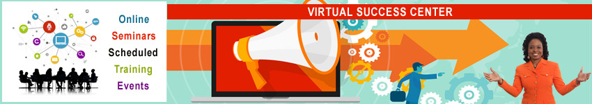 Virtual Success Center - Online Scheduled Events